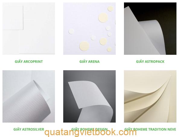Các loại giấy mỹ thuật 1