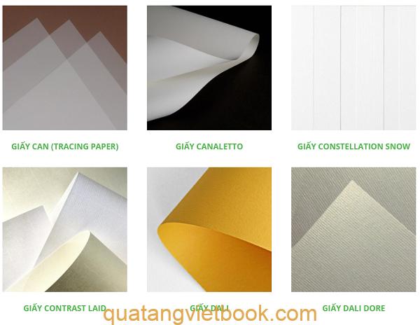 Các loại giấy mỹ thuật 2