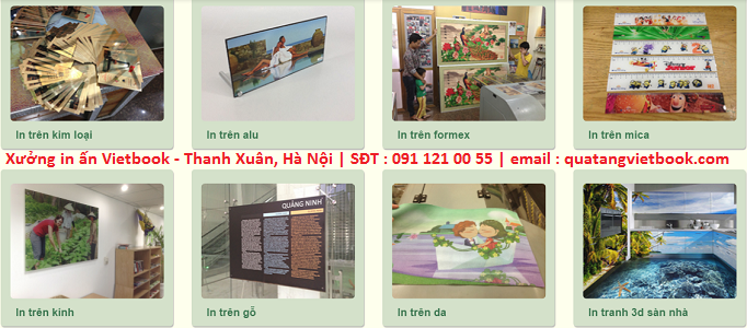 Chuyên nhận in trên mọi chất liệu giá rẻ tại Hà Nội