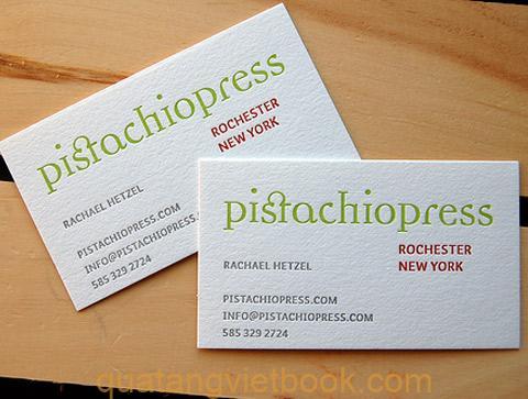 Địa chỉ in card visit giấy mỹ thuật chất lượng đẹp nhất tại VietBook