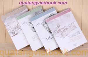 Địa chỉ sản xuất sổ da, sổ tay chất lượng đẹp nhất tại VietBook