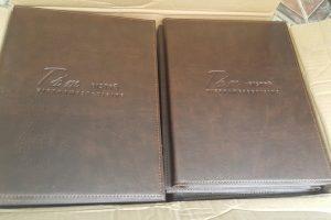 quyển menu nhà hàng Tấm