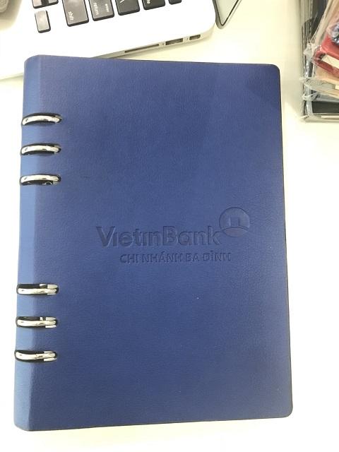 Mẫu sổ da có sẵn VB004