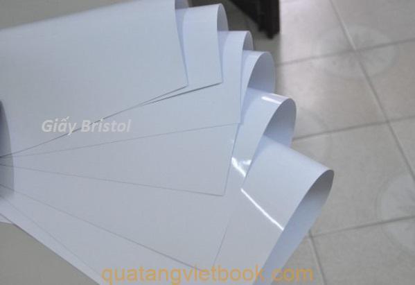 giấy in catalogue - giấy bristol