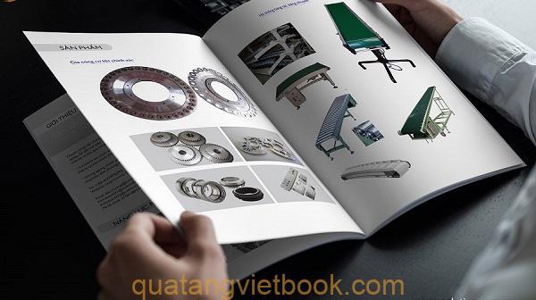 in catalogue công ty cơ khí