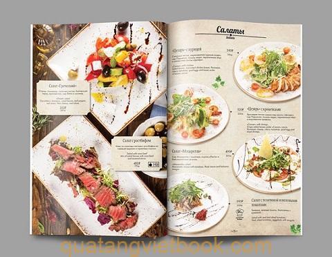 in catalogue nhà hàng