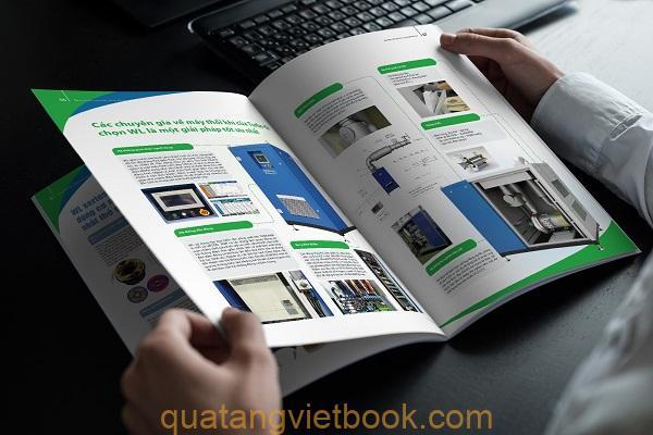 quy trình in catalogue
