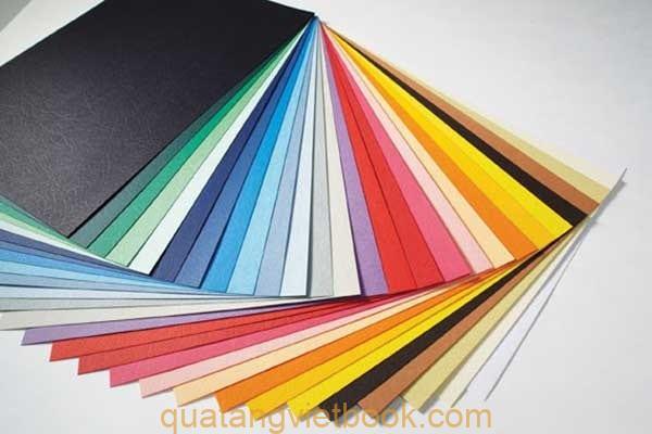 các loại giấy in catalogue tại vietbook 1