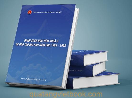 in sách khóa học 2012
