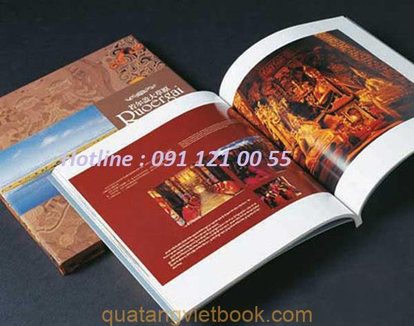 in sách màu, sách ảnh tại Vietbook