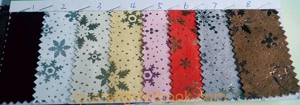 mẫu vải giả da 2
