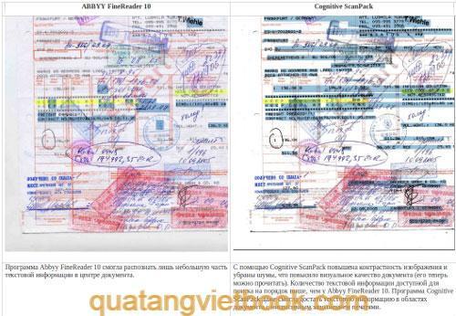 tài liệu trước khi số hóa bằng scanpack