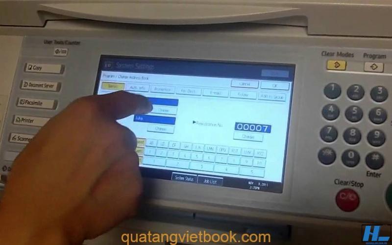cách scan tài liệu bằng máy photo