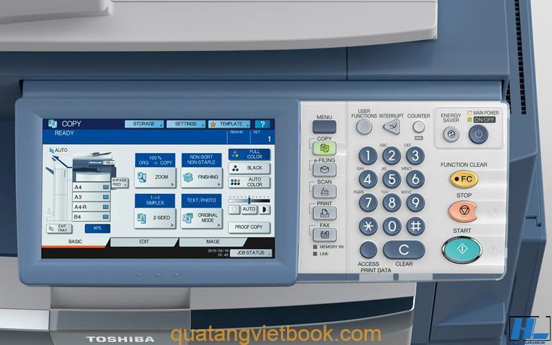 Cách scan tài liệu bằng máy toshiba