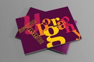 Mẫu thiết kế bìa catalogue đơn giản tinh gọn