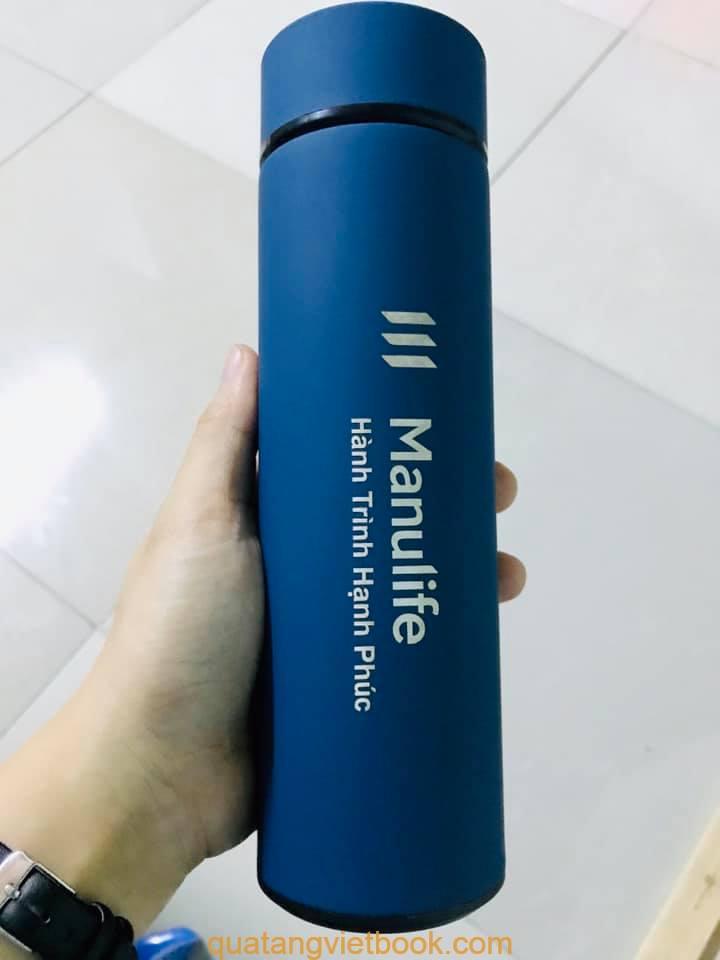 In logo lên bình giữ nhiệt bỏ nhựa