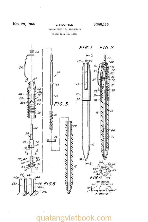 Nguồn gốc của chiếc bút bi