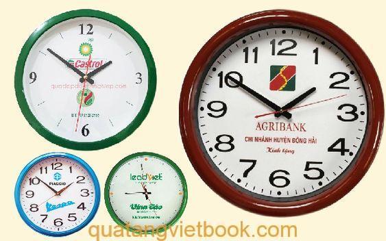 quà tặng in logo - đồng hồ