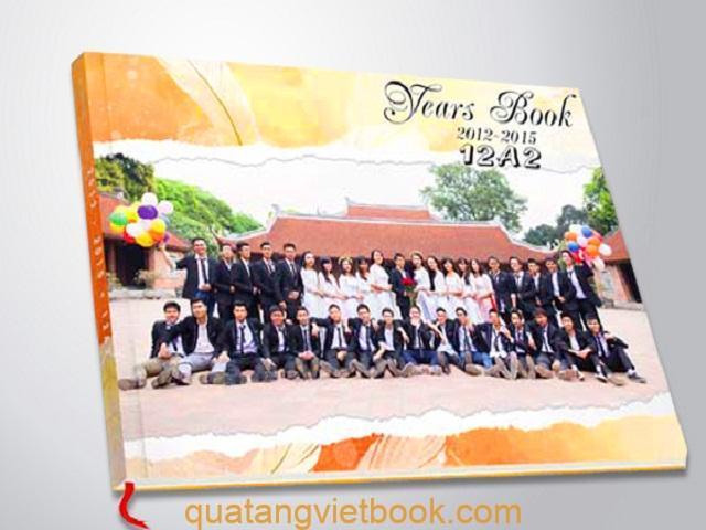 In photobook sinh viên, học sinh
