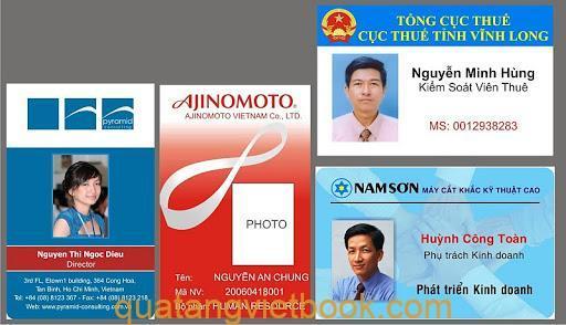 In thẻ nhân viên bền đẹp, giá rẻ