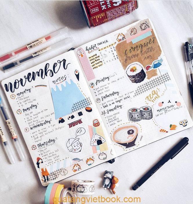 Cách viết nhật ký dễ thương