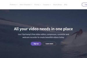 Phần mềm chỉnh sửa video Clipchamp