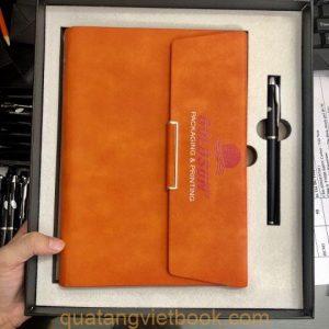Sổ tay màu cam cho cung sư tử -1