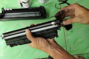 Cách đổ mực cho máy in