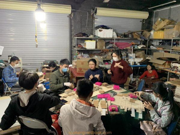 xưởng sản xuất sổ da Vietbook