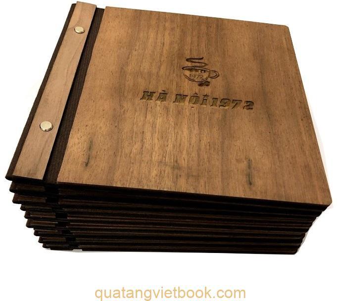 ưu và nhược điểm menu bìa gỗ