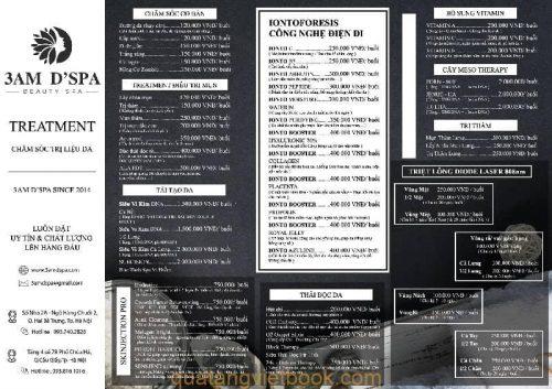 menu phong cách huyền bí